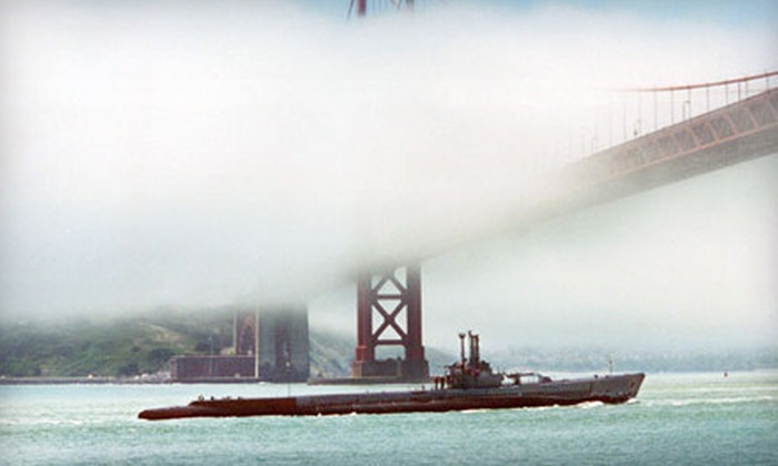 """USS Pampanito - Fisherman's Wharf: """"USS Pampanito"""" Historic Submarine Tour for Two Adults, Family of Six, or Up to 15 (Up to 63% Off)"""
