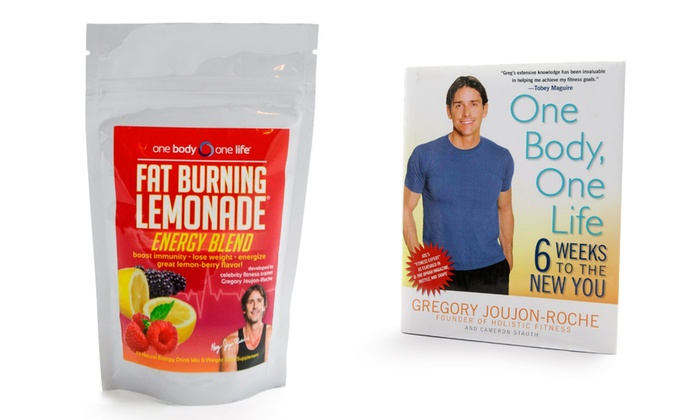 One Body One Life Fat Burning Lemonade And Complete Holistic Weight Loss Program Bundle