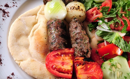 Mediterranean Cuisine at Zem Han Mediterranean Restaurant (Half Off). Two Options Available.