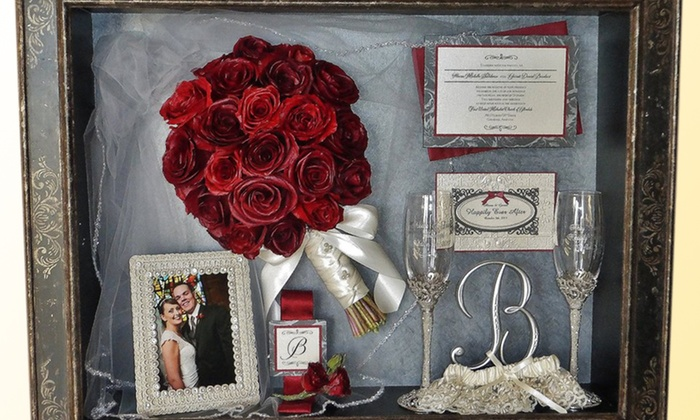 Floral Keepsakes - Alhambra: Wedding-Bouquet Preservation or $50 Worth of Freeze-Dried Floral Preservation at Floral Keepsakes