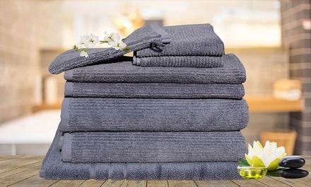 $29 for an Eight-Piece Egyptian Cotton Bath Towel Set (Don't Pay $129.95)