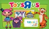 "Toys""R""Us and Babies""R""Us– $10 for Toys and Games"
