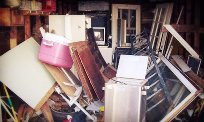 Top Dog Removal Services - Chicopee: 3 or 4 Cubic Yards of Junk Removal from Top Dog Removal Services (67% Off)
