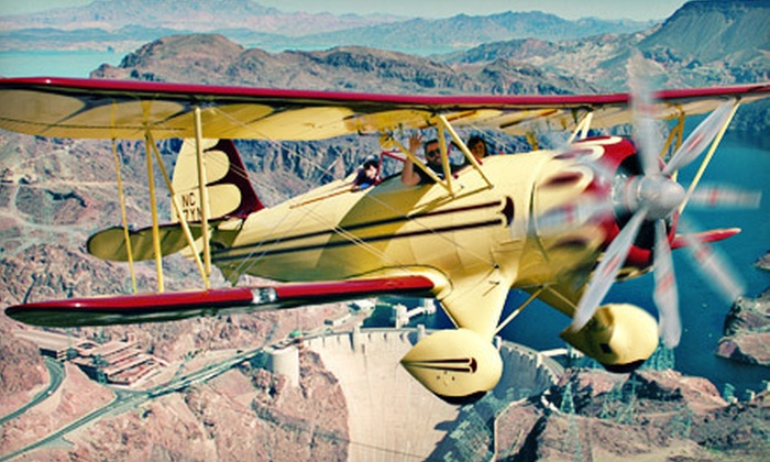 Sky Combat Ace - Las Vegas: Hoover Dam Flight with SCA Heritage Museum Access for One or Two from Sky Combat Ace in Henderson (Up to 58% Off)