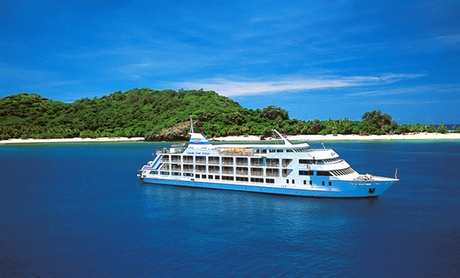 8-Day Fiji Vacation with Airfare and Island Cruise