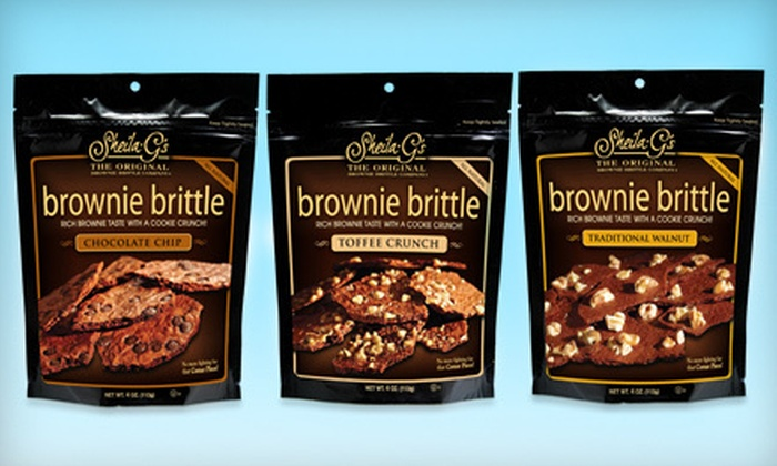 Sheila G's Brownie Brittle: $15 for $30 Worth of Brownie Brittle from Sheila G's Brownie Brittle