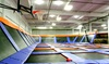 SkyMania Trampoline - Totem Lake: Trampoline Sessions or Weekend Events at SkyMania! Trampolines in Kirkland (Up to 55% Off). Four Options Available.