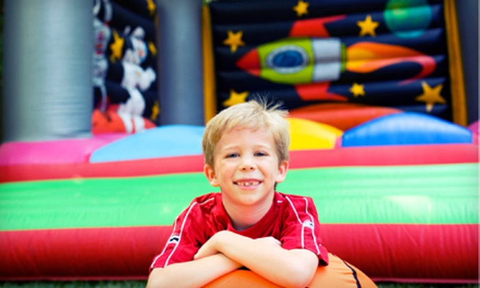 Jump-N-Jive Party & Play - Amarillo: $20 for Five Indoor-Bounce-House Visits to Jump-N-Jive Party & Play ($40 Value)