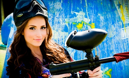 All-Day Paintball Outing for 4, 6, or 12 with Equipment and Marker Rental from PaintballTickets.com (Up to 77% Off)