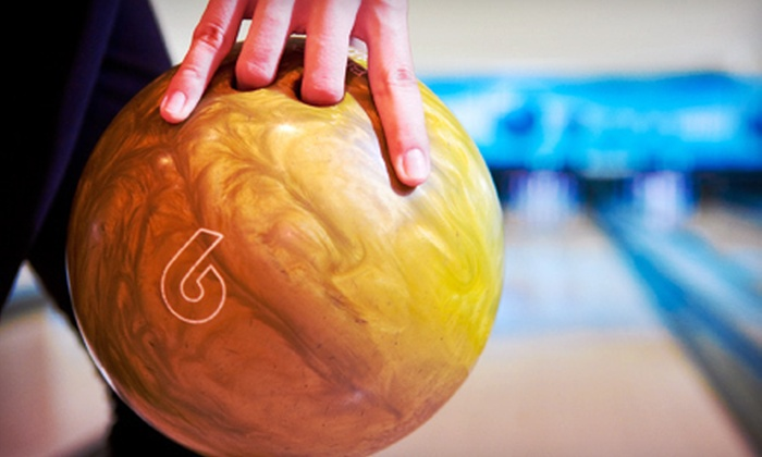 Derby Family Entertainment Center - Riverside Café of Derby: Bowling for Two, Up to Four, or Up to Eight with Shoe Rentals at Derby Family Entertainment Center (Up to 57% Off)