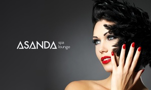 Asanda Spa Lounge: Manicures and Pedicures at Asanda Aveda Spa Lounge (Up to 52% Off)