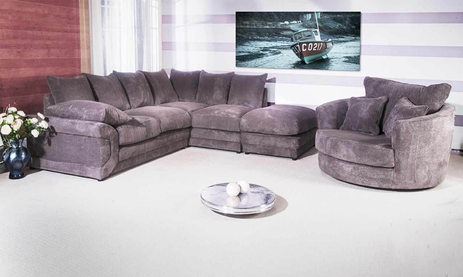 Rio Corner Sofa Groupon Goods