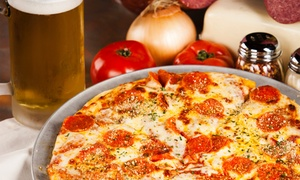 414 Pub & Pizza: Pizza and Drinks for Two or Four at 414 Pub & Pizza (Up to 45% Off). Two Options Available.
