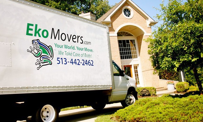 EkoMovers - Cincinnati: $99 for Two Hours of Moving Services with Two-Man Crew from EkoMovers (Up to $239 Value)