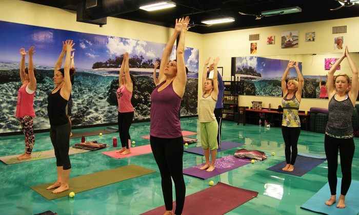Aloha Yoga and Hula - Chandler: Month of Unlimited Yoga or 10 Kids' Yoga Classes at Aloha Yoga and Hula (Up to 68% Off)