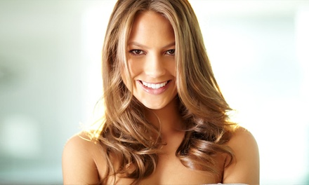 Haircut, Conditioning, and Style with Optional Partial Highlights at Bayside Salon ( 61% Off)