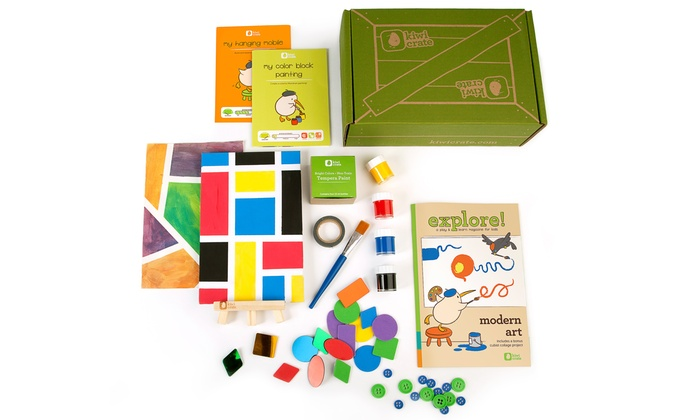 Kiwi Crate: $35 for Three Months of Creativity Kits for Kids from Kiwi Crate ($60 Value)