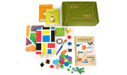 $35 for Three Months of Creativity Kits for Kids from Kiwi Crate ($60 Value)
