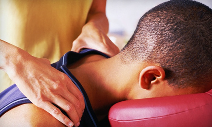 Awender Chiropractic - Snail: Exam with One or Three 60-Minute Massages and Chiropractic Adjustments at Awender Chiropractic (Up to 85% Off)