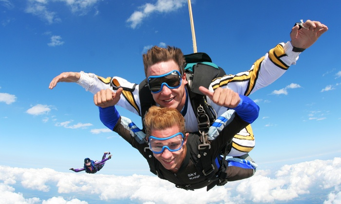 Skydive Milwaukee - East Troy: $149 for a Tandem Skydive from Skydive Milwaukee ($229 Value)