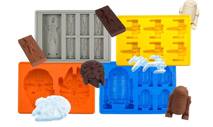 Star Wars Trays for Ice Cubes, Jello, or Chocolate