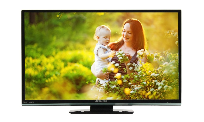 "Sansui 24"" LED TV/DVD Combo: Sansui 24"" LED TV/DVD Combo (Manufacturer Refurbished). Free Returns."