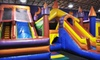 JJ Jump - Multiple Locations: Four Open-Jump Sessions for Kids Age 3–15 or 3 and Younger at JJ Jump and JJ Extreme (Up to 55% Off)