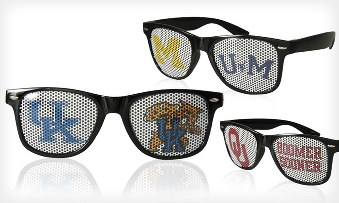 NCAA Sunglasses: $12 for Go Design NCAA Sunglasses ($24.99 List Price). 17 Teams Available. Free Returns.