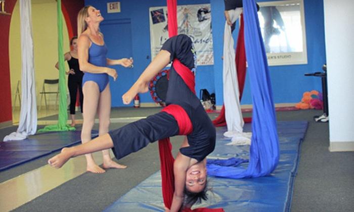 Dancer's Studio - Lambka Park: Eight Ballet, Hip-Hop, Modern, or Jazz Dance Classes, or Eight Yoga or Aerial Classes at Dancer's Studio (Up to 61% Off)