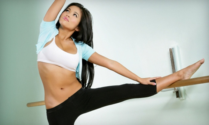 Fembody Fitness - Multiple Locations: 5 or 10 Barre Fitness Classes at Fembody Fitness (Up to 81% Off)