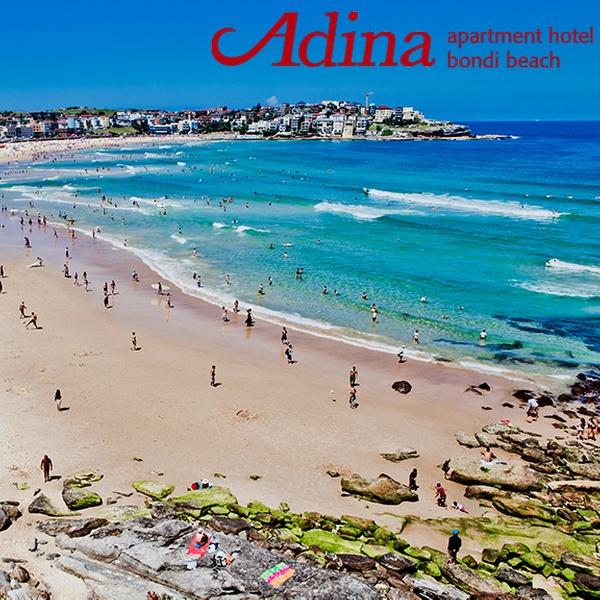 Bondi Beach: $399 for a 4 5-Star Getaway with Wine and Breakfast at Bill's  at Adina Apartment Hotel Bondi Beach