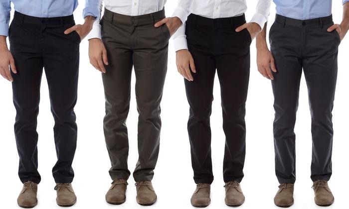 Vertical Sport Men's Slim-Fit Chino Pants