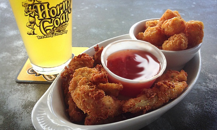 Horny Goat Hideaway - Bay View: Craft Beer Dinner for Two or Four on May 10, June 21, or July 5 at Horny Goat Hideaway (Up to 42% Off)