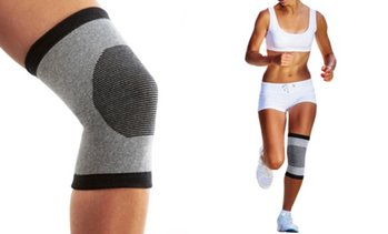 XFit Bamboo-Infused High-Energy Knee Sleeve