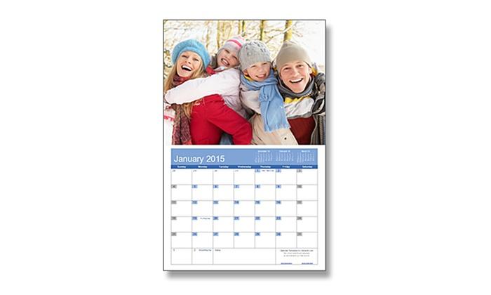 Denevi Digital Imaging - Sunnyvale: $19 for a 2015 Custom Wall Calendar from Denevi Digital Imaging ($38.99 Value)
