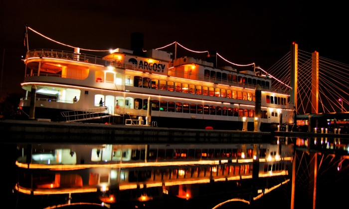 Argosy Cruises - Multiple Locations: Holiday Dinner Cruise for Two from Argosy Cruises (40% Off). Four Dates Available.