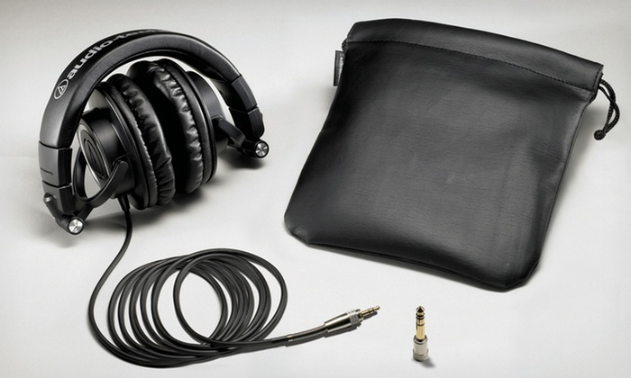 Audio Technica ATH-M50 Professional Studio Headphones: $129.99 for Audio Technica ATH-M50 Professional Studio Headphones ($199.99 List Price). Free Shipping and Returns.