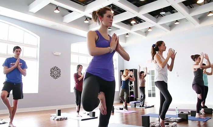 Evolution Yoga - Glenview: Two or Four Yoga Classes at Evolution Yoga (Up to 54% Off)