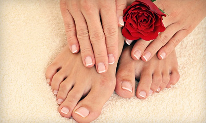 Salon Eleven - Samantha at Salon Eleven: $30 for a Mani-Pedi from Amy Stanton at Salon Eleven ($62 Value)