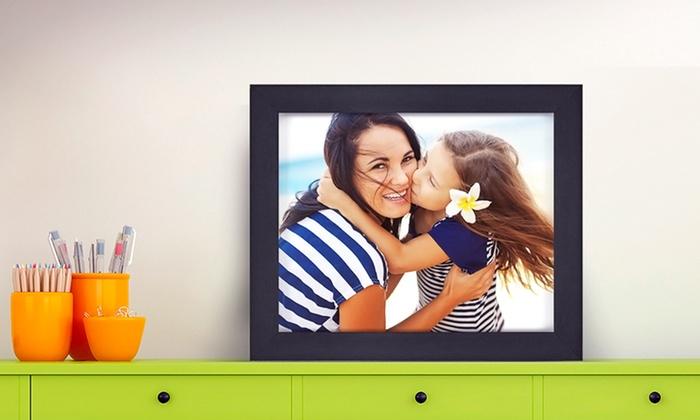 """FramedUp.com: 8""""x10"""" Customized Framed Canvas from FramedUp.com (Up to 93% Off)"""