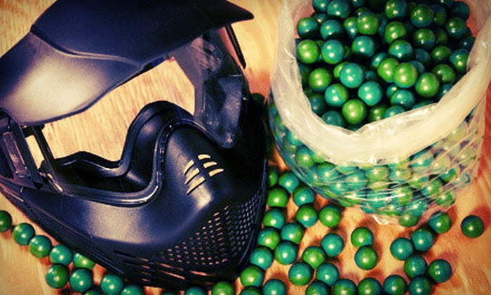 BattlegroundZ - Attleboro: Paintball with Equipment Rental for Up to 5 or 10 People at BattlegroundZ (Up to 80% Off)