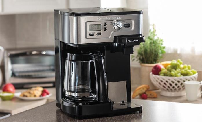 Hamilton Beach Two-Way FlexBrew Coffee Maker (Manufacturer Refurbished)