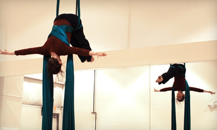 Chattanooga Aerials/Grounded High Dance - Hickory Valley - Hamilton Place: $20 for Two-Hour Intro to Aerials Workshop at Chattanooga Aerials ($40 Value)