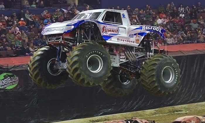 Monster Truck and Motorcycle Thrill Show - LULU Shriners Arena: Monster-Truck and Motorcycle Show on May 28 or 29