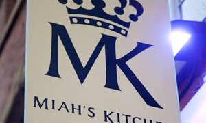 Miah's Kitchen: Two-Course Indian Meal with Poppadoms and a Tray of Pickles to Share for Two or Four at Miah's Kitchen (Up to 54% Off)