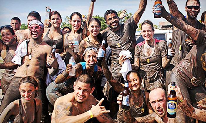 Mud Mingle Mud Run - Historic Virginia Key Beach Park: $37 for Entry to 5K Mud Mingle Mud Run on Saturday, October 26 (Up to $79 Value)
