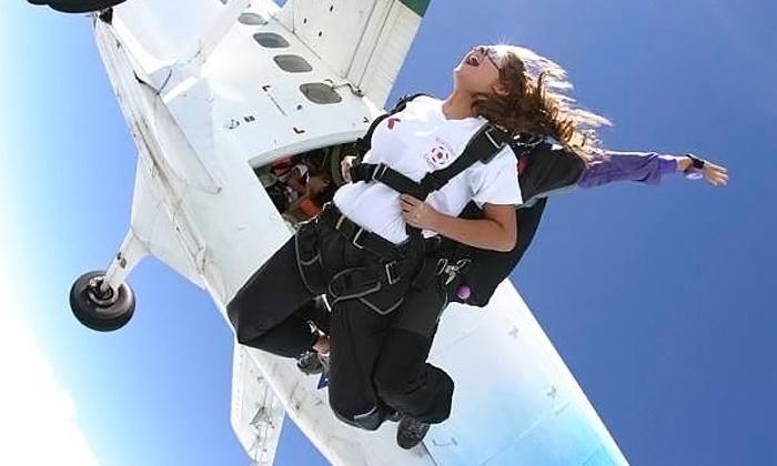 Skydiving Philadelphia - Perkasie: One or Two Groupons, Each Good for One Tandem Skydiving Jump from Skydiving Philadelphia (Half Off)