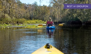 River Guide Kayaks: Kayak Rental for Two, Four, or Six from River Guide Kayaks (59% Off)