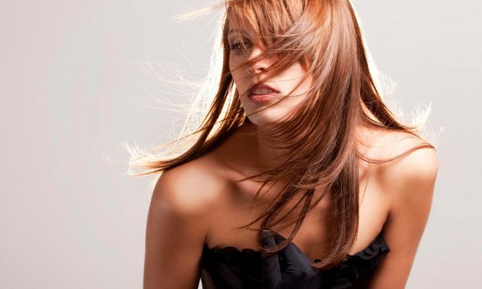 Young & Classy Hair Salon - Beech Hill: Blowout with Cut and Wash at Young & Classy Hair Salon (55% Off)