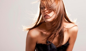 Young & Classy Hair Salon: Blowout with Cut, Cut and Conditioning, or Single-Process Color at Young & Classy Hair Salon (Up to 59% Off)